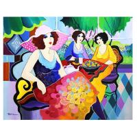 "Patricia Govezensky Signed ""Harmony"" 30x24 Original Acrylic on Canvas at PristineAuction.com"