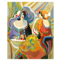 "Isaac Maimon Signed ""Golden Fest"" 24x30 Original Acrylic Painting at PristineAuction.com"