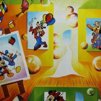 "Alexander Astahov Signed ""Grand Carpet"" 30x40 Original Oil on Canvas at PristineAuction.com"