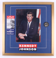 John F. Kennedy 24x25 Custom Framed Photo