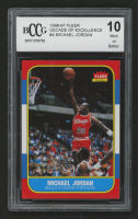 1996-97 Fleer Decade of Excellence #4 Michael Jordan (BCCG 10) at PristineAuction.com