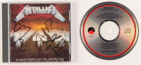 "Lars Ulrich, James Hetfield, & Kirk Hammett Signed Metallica ""Master of Puppets"" CD Album (REAL LOA & JSA ALOA)"