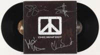 "Chickenfoot ""Chickenfoot"" Vinyl Record Album Signed by (4) with Sammy Hagar, Joe Satriani, Michael Anthony & Chad Smith (JSA COA & REAL LOA) at PristineAuction.com"