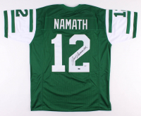 Joe Namath Signed New York Jets Jersey (Beckett COA & Namath Hologram)