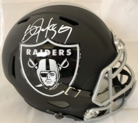 Bo Jackson Signed Oakland Raiders Full-Size Speed Helmet (Beckett COA)