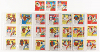 Complete Set of (33) 1979 Topps Comics Baseball Cards with #9 George Brett, #4 Nolan Ryan, #21 Johnny Bench