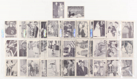 Complete Set of (64) 1963 John F. Kennedy Cards with #32 Social Engagements, #37 Birthday Party