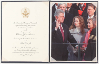 Bill Clinton Official Presidential Inauguration Invitation with Display Binder