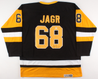 Jaromir Jagr Signed Pittsburgh Penguins Jersey (JSA COA) at PristineAuction.com