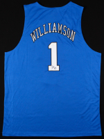 Zion Williamson Signed Duke Blue Devils Jersey (PSA COA)