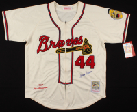 Hank Aaron Signed Atlanta Braves Jersey (Beckett COA)