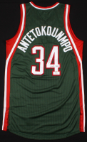 "Giannis Antetokounmpo Signed Milwaukee Bucks Jersey Inscribed ""Greek Freak"" (JSA COA & Antetokounmpo Hologram)"