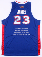 LeBron James Signed LE 2005 All-Star Game Jersey (Upper Deck COA)
