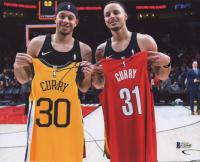 Seth Curry Signed Portland Trail Blazers 8x10 Photo (Beckett COA)