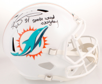 "Ricky Williams Signed Miami Dolphins Full-Size Speed Helmet Inscribed ""3x"" & ""Smoke Weed Everyday"" (JSA COA)"