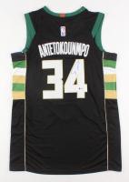 Giannis Antetokounmpo Signed Milwaukee Bucks Jersey (Beckett COA)