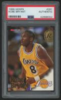 1996-97 Hoops #281 Kobe Bryant RC (PSA Authentic)