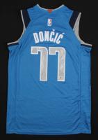 Luka Doncic Signed Dallas Mavericks Jersey (Beckett COA)
