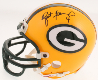 Brett Favre Signed Green Bay Packers Mini-Helmet (Beckett COA)