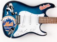"Tim Tebow Signed 39"" New York Mets / Florida Gators Mahar Electric Guitar (JSA COA)"