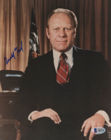 Gerald Ford Signed 8x10 Photo (Beckett LOA)