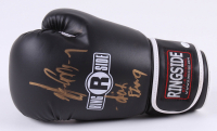 "Gerry Cooney Signed Ringside Boxing Glove Inscribed ""Irish Strong"" (JSA COA) at PristineAuction.com"