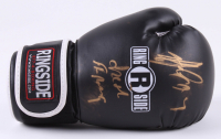 """Gerry Cooney Signed Ringside Boxing Glove Inscribed """"Irish Strong"""" (JSA COA) at PristineAuction.com"""