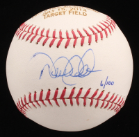 Derek Jeter Signed Limited Edition OML Custom Engraved Baseball  (Steiner COA & MLB Hologram)