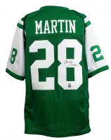 Curtis Martin Signed New York Jets Jersey (JSA COA & Martin Hologram)