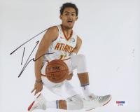 Trae Young Signed Atlanta Hawks 8x10 Photo (PSA COA)
