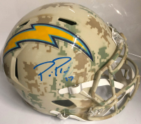 Philip Rivers Signed Los Angeles Chargers Full-Size Speed Helmet (Beckett Hologram)