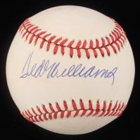 Ted Williams Signed OAL Baseball (Beckett LOA)