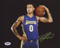 Kyle Kuzma Signed Los Angeles Lakers 8x10 Photo (PSA COA)