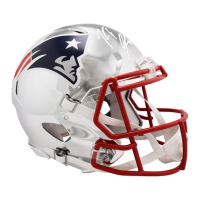 Rob Gronkowski Signed Patriots Full-Size Chrome Helmet (Steiner COA)