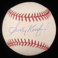 Sandy Koufax Signed OML Baseball (Online Authentics COA)