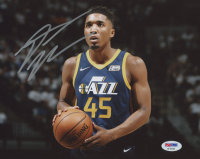 Donovan Mitchell Signed Utah Jazz 8x10 Photo (PSA COA)