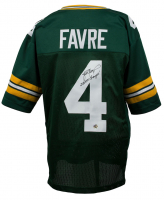"Brett Favre Signed Green Bay Packers Jersey Inscribed ""SB XXXI Champs!"" (Favre COA)"
