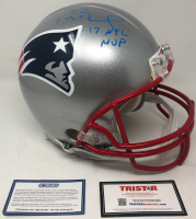 Tom Brady Signed LE New England Patriots Full-Size Authentic On-Field Helmet (Steiner COA & Tristar Hologram)