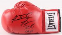"Riddick Bowe Signed Everlast Boxing Glove Inscribed ""2015 HOF"" (JSA COA)"