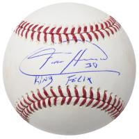 "Felix Hernandez Signed OML Baseball Inscribed ""King Felix"" (JSA COA)"