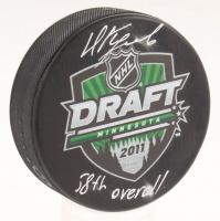 "Nikita Kucherov Signed 2011 NHL Draft Logo Hockey Puck Inscribed ""58th Overall"" (JSA COA & Your Sports Memorabilia Store Hologram)"