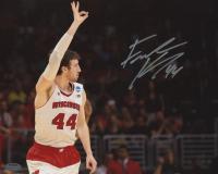 Frank Kaminsky Signed Wisconsin Badgers 8x10 Photo (Schwartz Hologram)