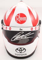 Christopher Bell Signed NASCAR Rheem 1:3 Scale Mini-Helmet (PA COA)