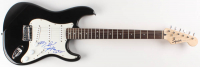 """James Brown Signed Fender 39"""" Electric Guitar with Inscription (JSA LOA) at PristineAuction.com"""