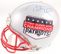 Tom Brady Signed New England Patriots 6-Time Super Bowl Champion Full-Size Authentic On-Field Helmet (TriStar Hologram  & Steiner Hologram)