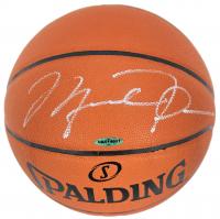 Michael Jordan Signed NBA Game Ball Series Basketball (UDA COA)