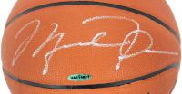 Michael Jordan Signed NBA Game Ball Series Basketball (UDA COA) at PristineAuction.com