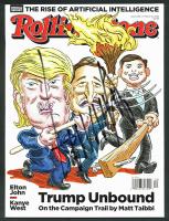 Donald Trump Signed 2016 Rolling Stone Magazine (JSA LOA)
