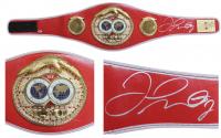 Floyd Mayweather Jr. Signed World Champion International Boxing Federation Belt (Beckett COA)