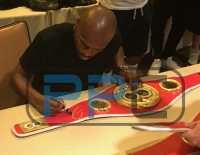 Floyd Mayweather Jr. Signed World Champion International Boxing Federation Belt (Beckett COA) at PristineAuction.com